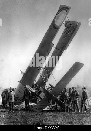 British airplane in the First World War, 1914-1918 - Stock Photo