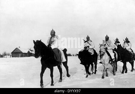 German Cavalry in Masuria, 1915 - Stock Photo