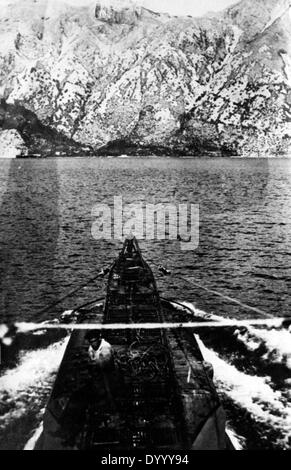 German submarines in Greece in the First World War - Stock Photo
