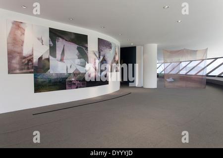 MAC interior, Art exhibition... - Stock Photo