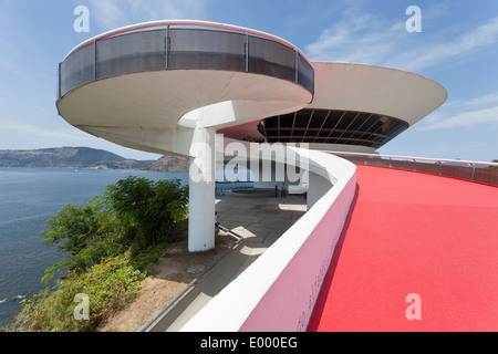 MAC with the slope walkway... - Stock Photo
