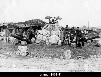 Turkish troops ín the Taurus mountains, 1917 - Stock Photo