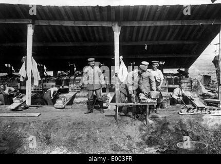 German field bakery, 1914 - Stock Photo