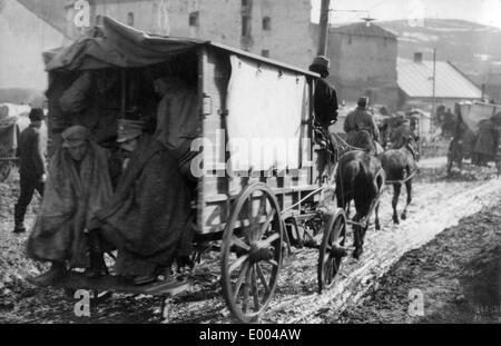 Austro-Hungarian ambulance vehicle, 1915 - Stock Photo