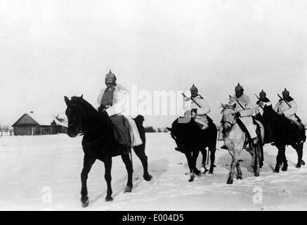 German Cavalry at the Eastern front, 1915 - Stock Photo
