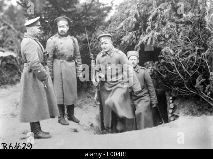 Russian troops in WW I - Stock Photo
