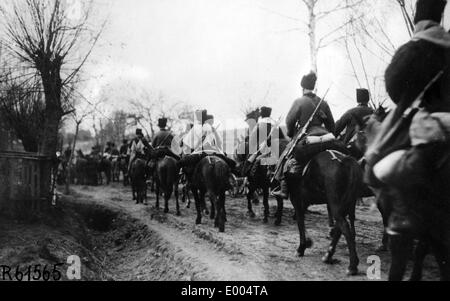Cossacks during WW I - Stock Photo
