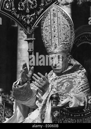 Pope Pius XII, 1953 - Stock Photo