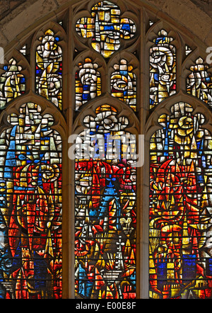 The power of art in reconciliation after the destruction of the Church of St. Martin-le-Grand in WWII, City of York, - Stock Photo
