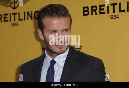 London, UK, UK. 27th June, 2013. David Beckham attends the launch of the new Breitling Flagship Boutique on Regent - Stock Photo