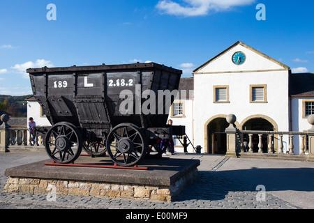 Beamish Museum Entrance, County Durham, England - Stock Photo