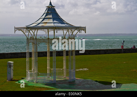 The Band Stand Southsea sea front Portsmouth - Stock Photo