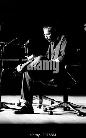 Reading by Marko Martin, 2001 - Stock Photo