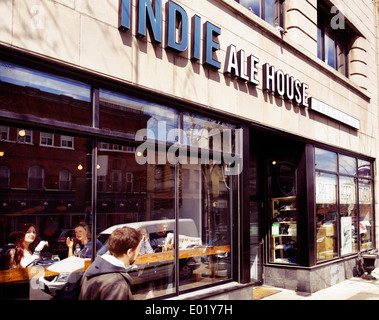 Indie Ale House restaurant at the Junction neighbourhood in Toronto, Canada - Stock Photo