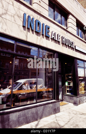 Indie Ale House bar at the Junction neighbourhood in Toronto, Canada - Stock Photo