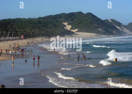 On the beach of East London, Eastern Cape, South Africa Stock Photo