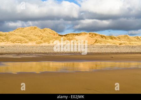 Freshwater West, Pembrokeshire Coast National Park, West Wales - Stock Photo