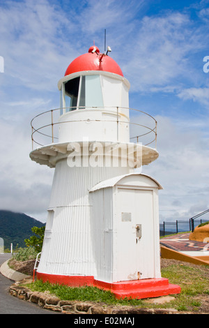Old Cooktown lighthouse on top of Grassy Hill - Stock Photo