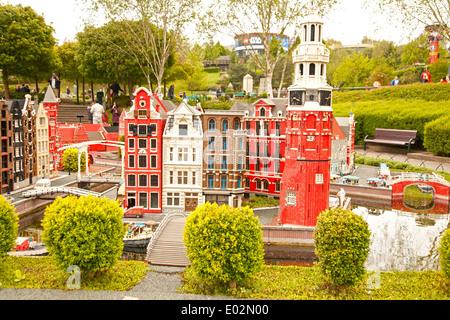 UK, Windsor, Legoland, a family leisure park, scene. - Stock Photo