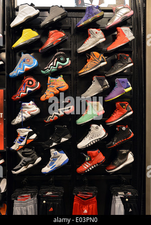 76c7a2074 Men s women s shoes unisex  Colorful men s athletic shoes for sale at a Foot  Locker store at Roosevelt Field in Long