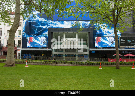 Odeon Cinema in Leicester Square, London - Stock Photo