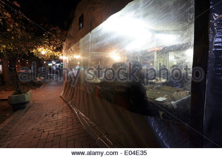 old city downtown local bar Istanbul - Stock Photo