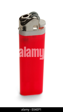 Cigarette Lighter Isolated on White Background. - Stock Photo