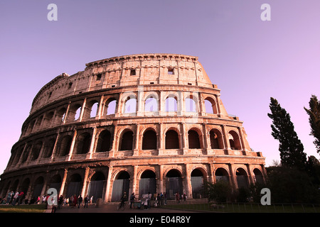 Colosseum,Rome,Italy - Stock Photo
