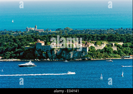 Europe, France, Alpes-Maritimes, Cannes. Lerins islands. - Stock Photo