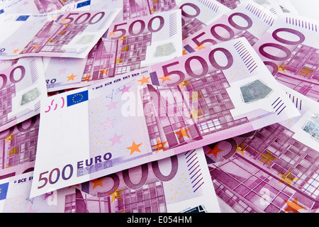 .5 hundred 500 500th 500 a lot to many many a lot of money a lot Wealthy property endowments endowment wealth rich - Stock Photo