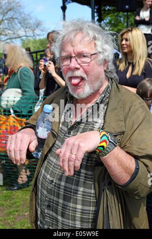 London, UK. 3rd May 2014. Bill Oddie at the All Dogs Matter, Great Hampstead Bark Off 2014, London Credit:  Paul - Stock Photo