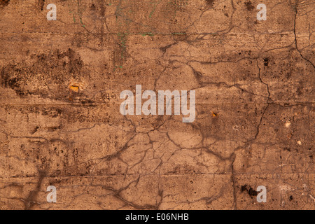 Old cement wall texture with cracks - Stock Photo