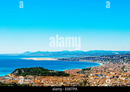 Europe, France, Alpes-Maritimes, Nice. - Stock Photo