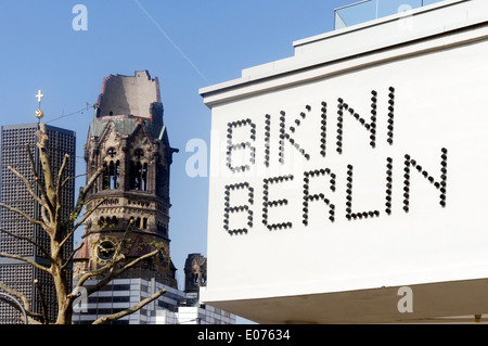 The brand new Bikini Berlin shopping mall in Berlin, Germany - Stock Photo