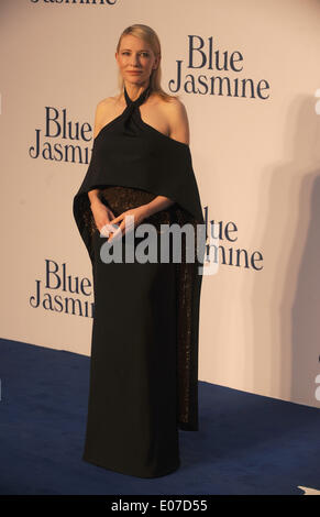 London, UK, UK. 17th Sep, 2013. Cate Blanchett attends the UK premiere of ''Blue Jasmine'' at Odeon West End. © - Stock Photo