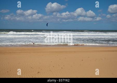 Barking Sands beach Kauai, Hawaii. - Stock Photo