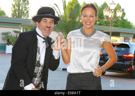 Herbolzheim, Germany - May 5, 2014: Eagles Charity Golf Cup and Gala at Golfclub Breisgau and Europa Park, Rust - Stock Photo