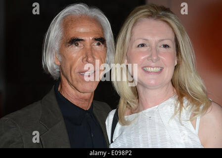 London, UK. 6th May 2014.  'Nicky Butler' Egyptian / Celtic Style Jewellery collection launch party at the British - Stock Photo