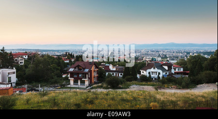 Summer landscape from Sofia valley, Bulgaria - Stock Photo
