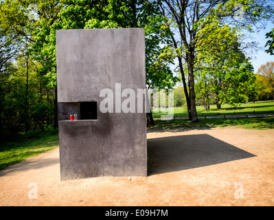 Memorial for Homosexuals Persecuted Under Nazism in Berlin, Germany. - Stock Photo