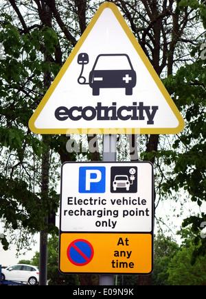 Cobham Services Electric Car Charging