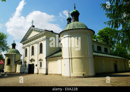 Church of Our Lady of Loreto in Warsaw, Poland - Stock Photo