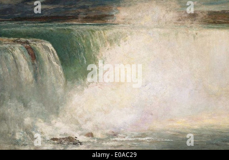 William Morris Hunt Niagara - Stock Photo