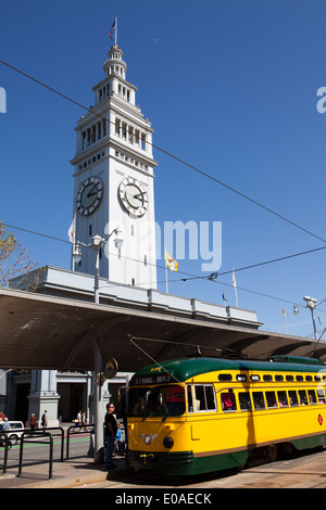 Ferry Building, San Francisco, California - Stock Photo