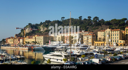 Old Port Nice, Alpes Maritimes, Provence, French Riviera, Mediterranean, France, Europe,  - Stock Photo