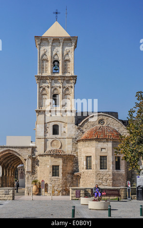 The church of St Lazarus in Larnaca, Cyprus. - Stock Photo