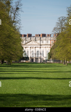 Hampton Court Palace From Home Park Side Surrey England London UK