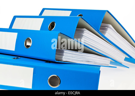 File with documents. Safekeeping of contracts - Stock Photo