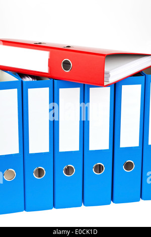 File with letters and documents. Safekeeping of contracts - Stock Photo