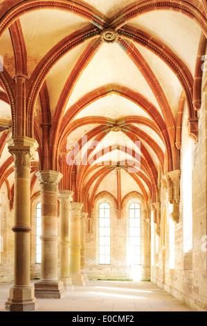 Herrenrefektorium, monastery Kloster Maulbronn, Maulbronn, Baden-Wuerttemberg, Germany, Europe